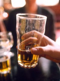 Marie Claire news: Pint of lager