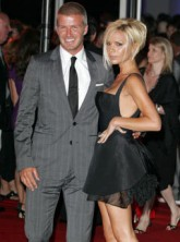 Marie Claire Celebrity News: David and Victoria Beckham's welcome to America party
