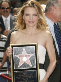 Marie Claire celebrity news: Michelle Pfeiffer recieves star on the Hollywood walk of fame