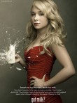 Marie Claire celebrity news: Heros star Hayden Panettiere in latest Got milk? ad campaign