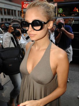 Marie Claire fashion news: Nicole Richie wearing Chanel sunglasses