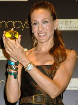 Marie Claire celebrity news: Sarah Jessica Parker at the launch of her new fragrance, Covet
