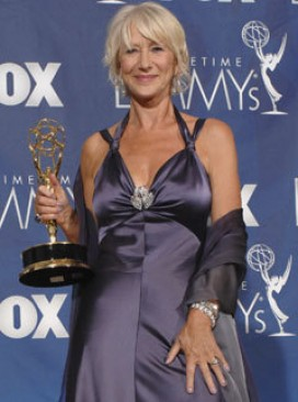 Marie Claire celebrity photos: Helen Mirren at the Emmy Awards 2007