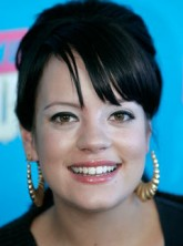 Marie Claire celebrity news: Lily Allen after announcing the nominees for the 2007 MTV Video Music Awards at the Palms hotel-casino in Las Vegas