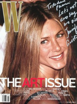 Marie Claire news: Jennifer Aniston on the cover of W magazine