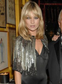 Marie Claire Galleries: Red Carpet: Kate Moss Topshop collection party