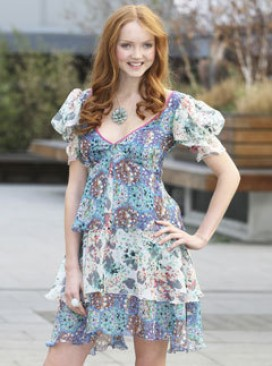 Marie Claire Fashion news: Lily Cole is the new face of M&amp;S