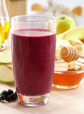 Blackcurrant smoothie