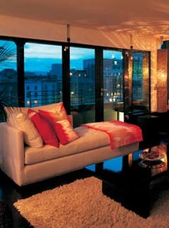 The Morrison hotel penthouse, Dublin