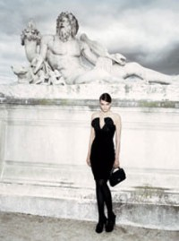 Paris, fashion shoot