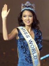 The winner of Miss World 2007