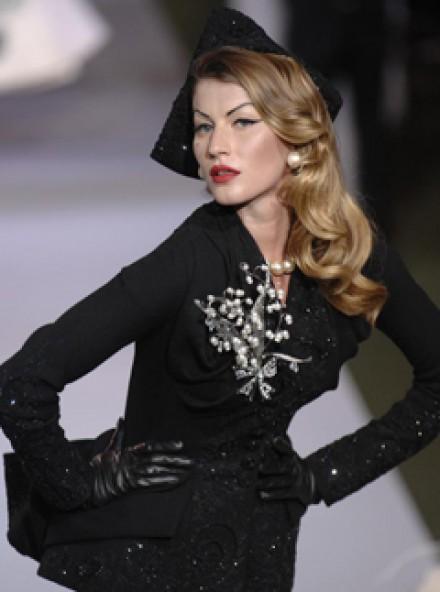 Gisele Bundchen-Dior Couture A/W07