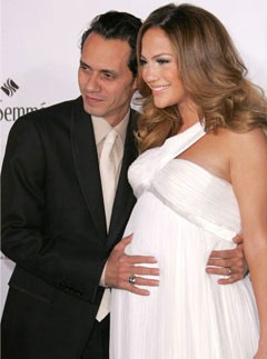 Jennifer Lopez is expecting in March