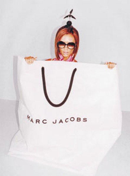 Victoria Beckham in Marc Jacobs adverts