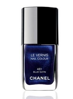 Chanel Blue Satin Nail Varnish
