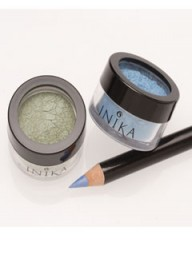 Inika Eyeshadows and Eyeliner