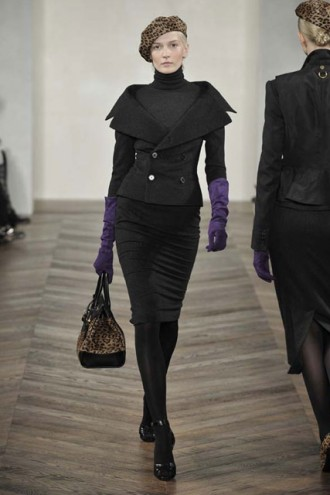 Marie Claire Fashion: Ralph Lauren Autumn/Winter 2008, New York Fashion Week