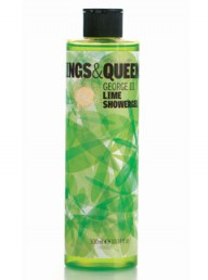 Kings & Queens George III Lime Showergel