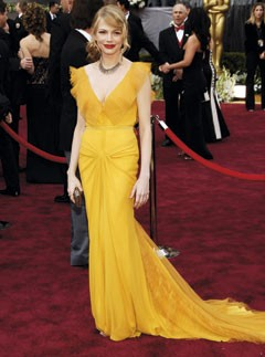 Marie Claire Best Dressed Oscars list- Michelle Williams