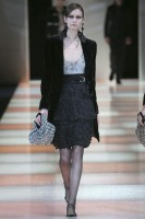 Marie Claire fashion: Milan: Giorgio Armani A/W 2008 - gallery