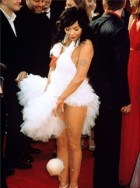 Bjork at the Oscars 2001
