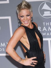 Pink at the 2007 Grammys