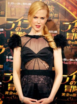 Nicole Kidman at the Japanese premiere of The Golden Compass