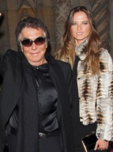 Roberto Cavalli and wife Eva
