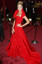 Marie Claire celebrity photos: The Oscars 2008, Heidi Klum
