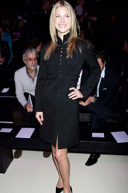 Marie Claire celebrity photos: Paris Fashion Week, Ali Larter