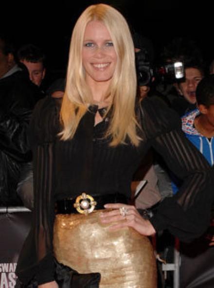 Claudia Schiffer Graduate Fashion Week Panel