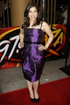 America Ferrera at the Under the Same Moon premiere in LA