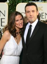 Ben Affleck and Jennifer Garner at the 64th Annual Golden Globe Awards