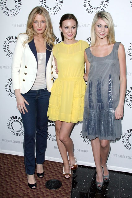 Marie Claire celebrity photos: Blake Lively, Leighton Meester and Taylor Momsen