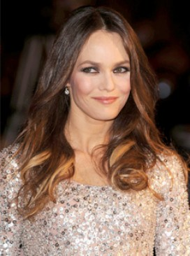 Vanessa Paradis at the NRJ Awards in France