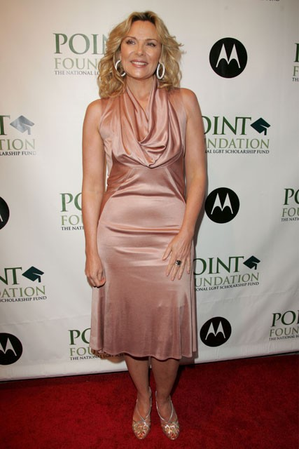 Marie Claire celebrity photos: Point Foundation honors, Kim Cattrall