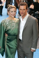 Marie Claire celebrity photos: Fools Gold Premiere, London, Kate Hudson and Matthew McConaughey
