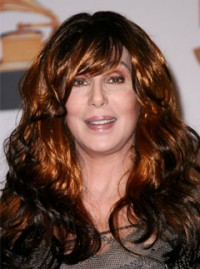 Cher at the 50th Annual Grammy Awards