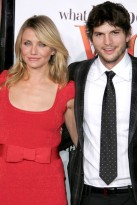 Marie Claire celebrity photos: What Happens in Vegas film premiere, Cameron Diaz & Ashton Kutcher