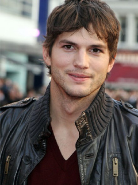 Ashton Kutcher at the London premiere of What Happens in Vegas