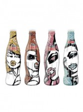 Diet Coke City Collection bottles by Patricia Field
