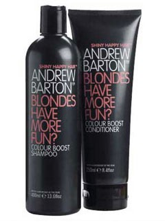 Andrew Barton Blondes Have More Fun? hair care