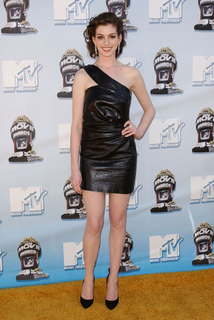 Marie Claire celebrity photos: MTV Movie Awards, Anne Hathaway