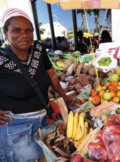 Buy fresh fruit from Bequia's markets