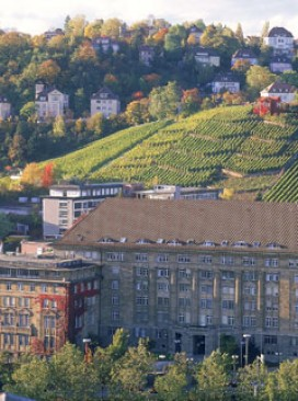 An overview of Stuttgart