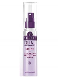 Aussie Dual Personality Shine + Coloured Hair Protection Serum