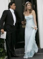 Marie Claire Celebrity News: Elizabeth Hurley and Arun Nayar