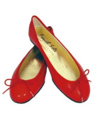 French Sole Henrietta Red Pumps