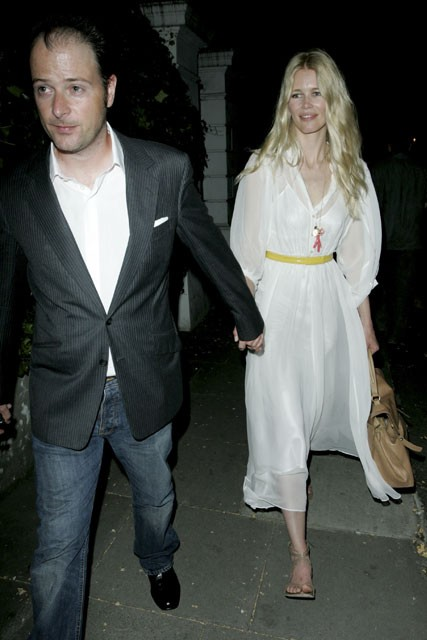 Marie Claire celebrity photos: Uma Thurman's engagement party, Claudia Schiffer