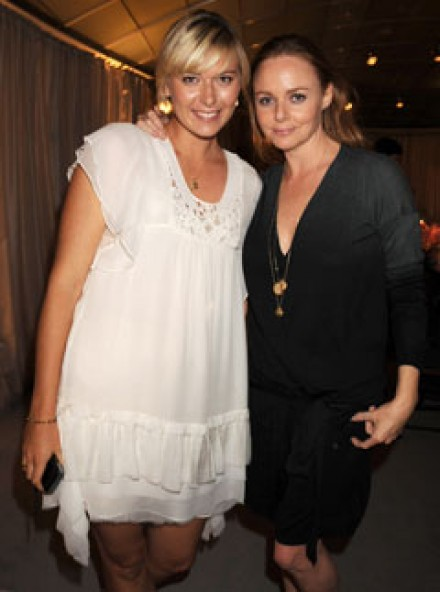 Marie Claire Celebrity News: Maria Sharapova and Stella McCartney